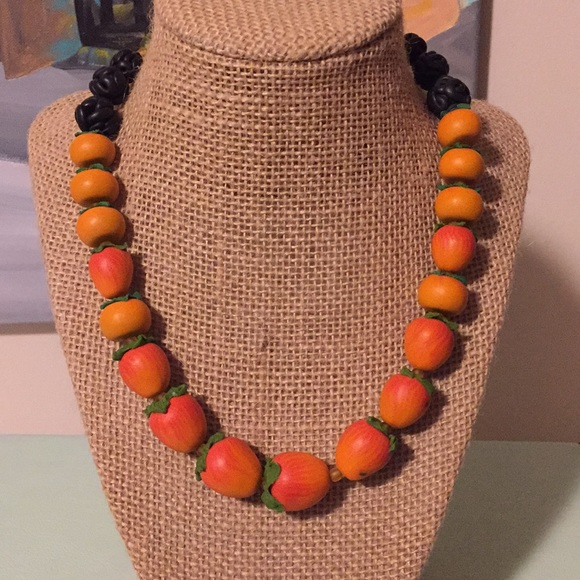 Jewelry - persimmon necklace
